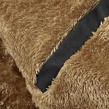 Amazon.com: 2019 😊Men Cotton Padded Jacket,Boys Winter Casual Hoodie Thickened Cashmere Coat (XL, Khaki): Electronics