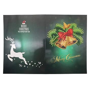 E Weihnachtskarten.5d Diamantgemälde Weihnachtskarte Schöne Weihnachtskarten Zum