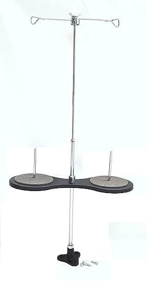 Portaconos maquina de coser para 2 bobinas de hilo. / Porta hilos maquina coser industriales. + lubricador de hilo de regalo: Amazon.es: Hogar