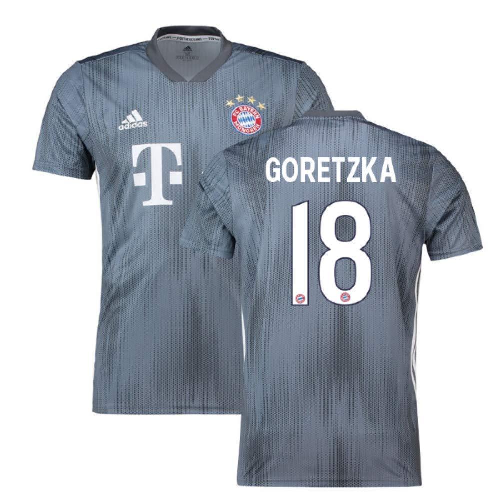 2018-19 Bayern Munich Third Football Soccer T-Shirt Trikot (Leon Goretzka 18)