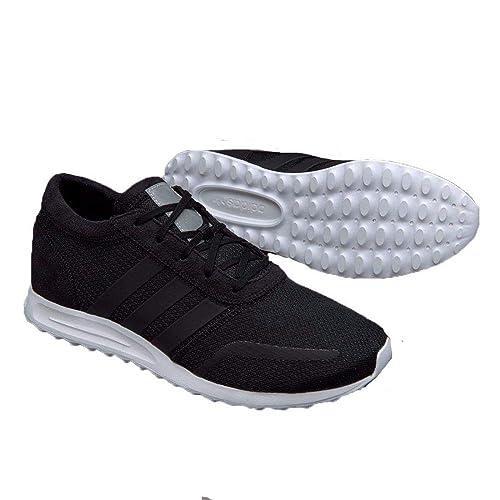 adidas Los Angeles, Herren Sneaker Schwarz schwarz, weiß 42