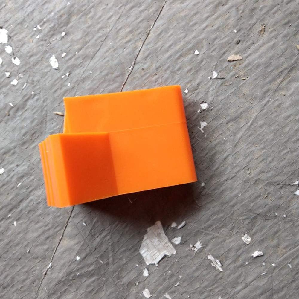 Rindfleisch Sehne Upgrade FairytaleMM Leiter Runde Fu/ß Abdeckung Exquisite Durable Multifunktions-Klappleiter f/ächerf/örmige Fu/ß Abdeckung Anti-Rutsch-Matte orange