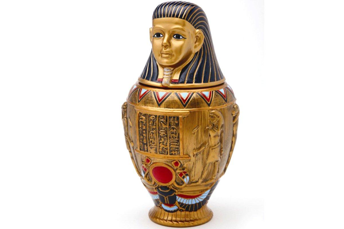 Amazon.com Egyptian Collection Imsety Canopic Jar 8112 Kitchen u0026 Dining  sc 1 st  Amazon.com & Amazon.com: Egyptian Collection Imsety Canopic Jar 8112: Kitchen ...