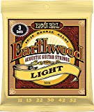 Best Ernie Ball String Lights - Ernie Ball Earthwood Light 80/20 Bronze Sets, .011 Review