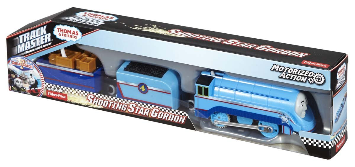 Cool Toy Train Cars : Fisher price thomas the train trackmaster shooting star
