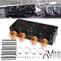 Hete-supply Calentador de Ventilador de Coche 12 V