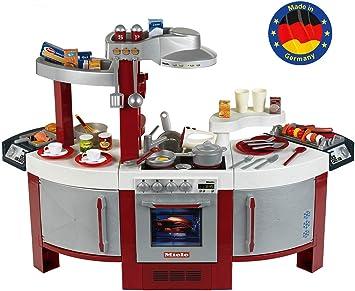 Theo Klein 9125 Cocina de Miele Cocina para niños que se puede utilizar por ambos lados,