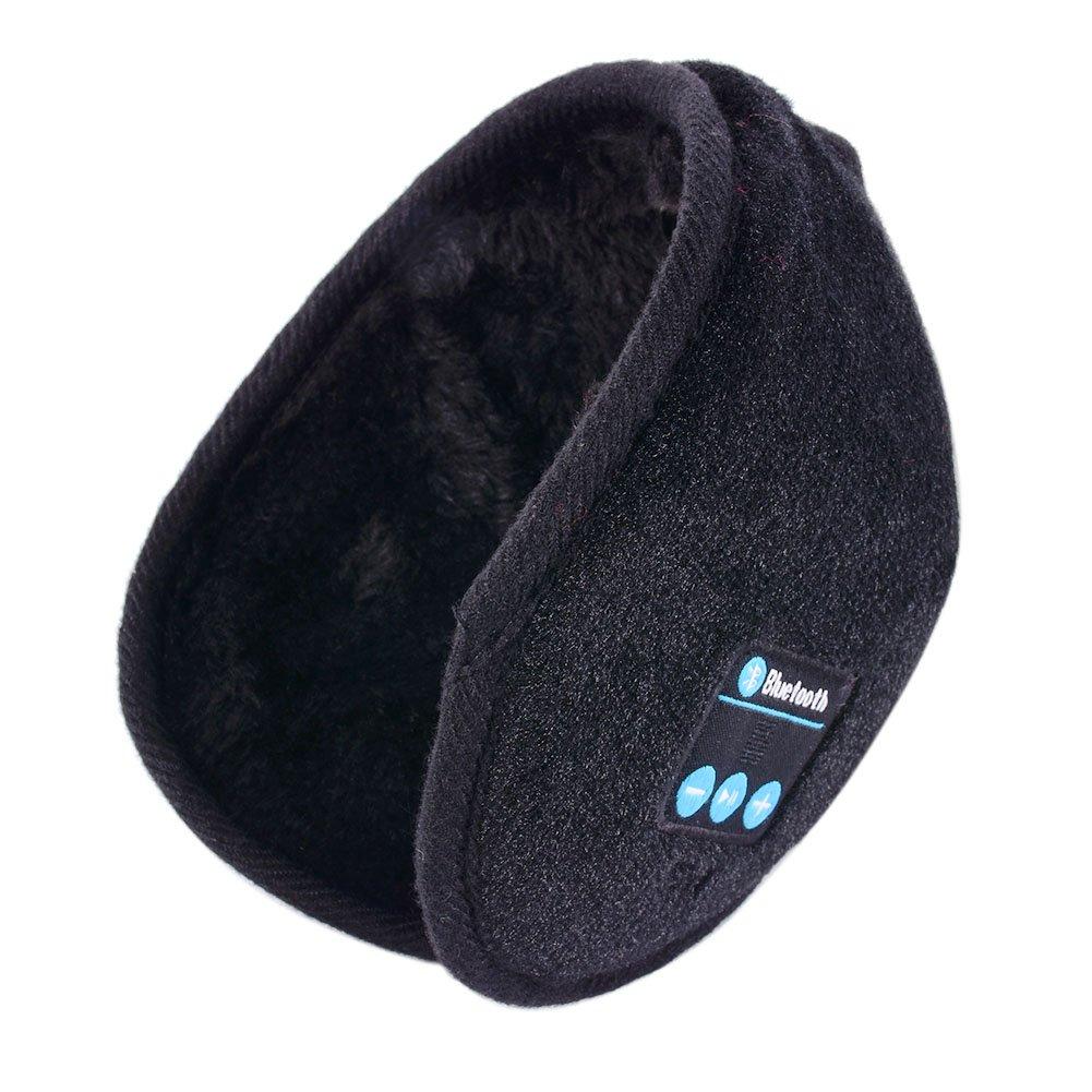 Moresave adulti Winter Music paraorecchie caldo della testa senza fili Bluetooth impostato cuffie regalo di Natale