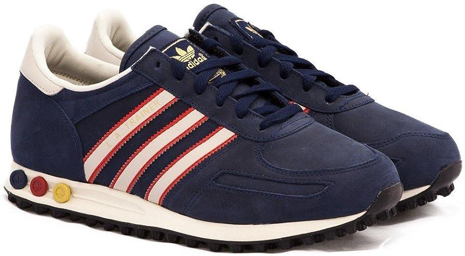 adidas LA Trainer Blue Red-White - UK 9