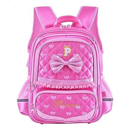 2bffa4c102b6 Amazon.com: LS Ling Shi School Bag - Children's School Bag Girl ...