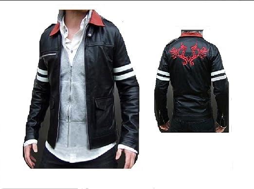 Basic Jacket Black tops Cos Costume new Prototype Alex Mercer PU Leather Jacket