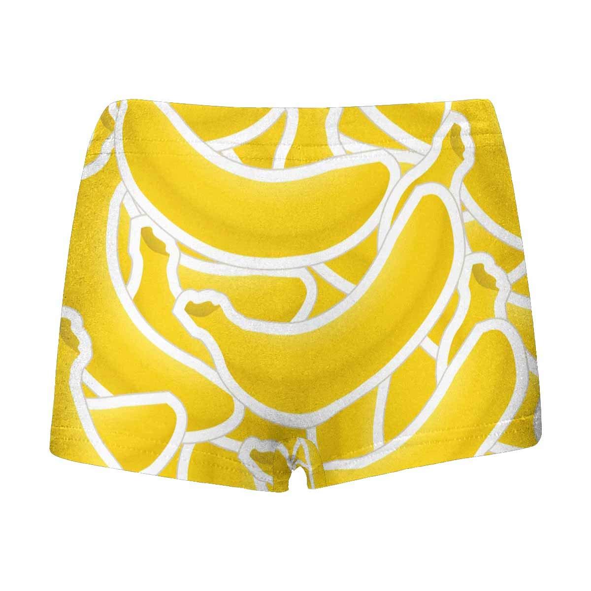 INTERESTPRINT Kids Banana ComfortSoft Printed Boxer Briefs 5T-2XL