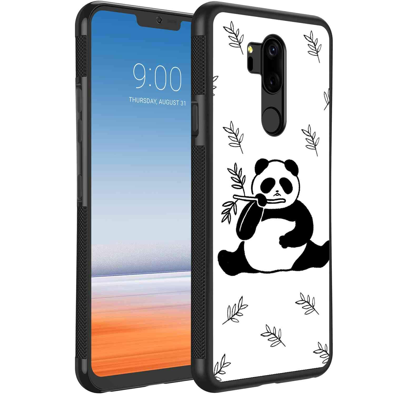 low priced e1430 a12f8 Amazon.com: Panda Cell Phone Case Compatible for LG G7 ThinQ (6.1 ...