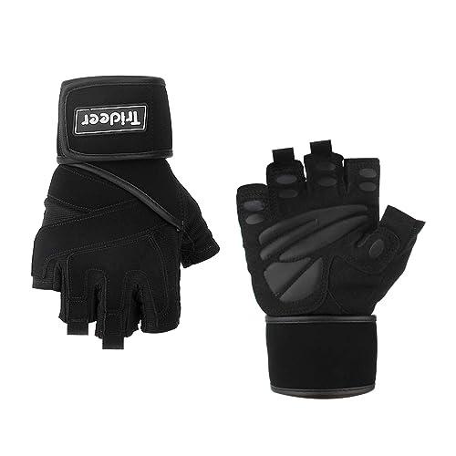 Lebboulder Workout Gloves: Best Weight Lifting Gloves For Carpal Tunnel