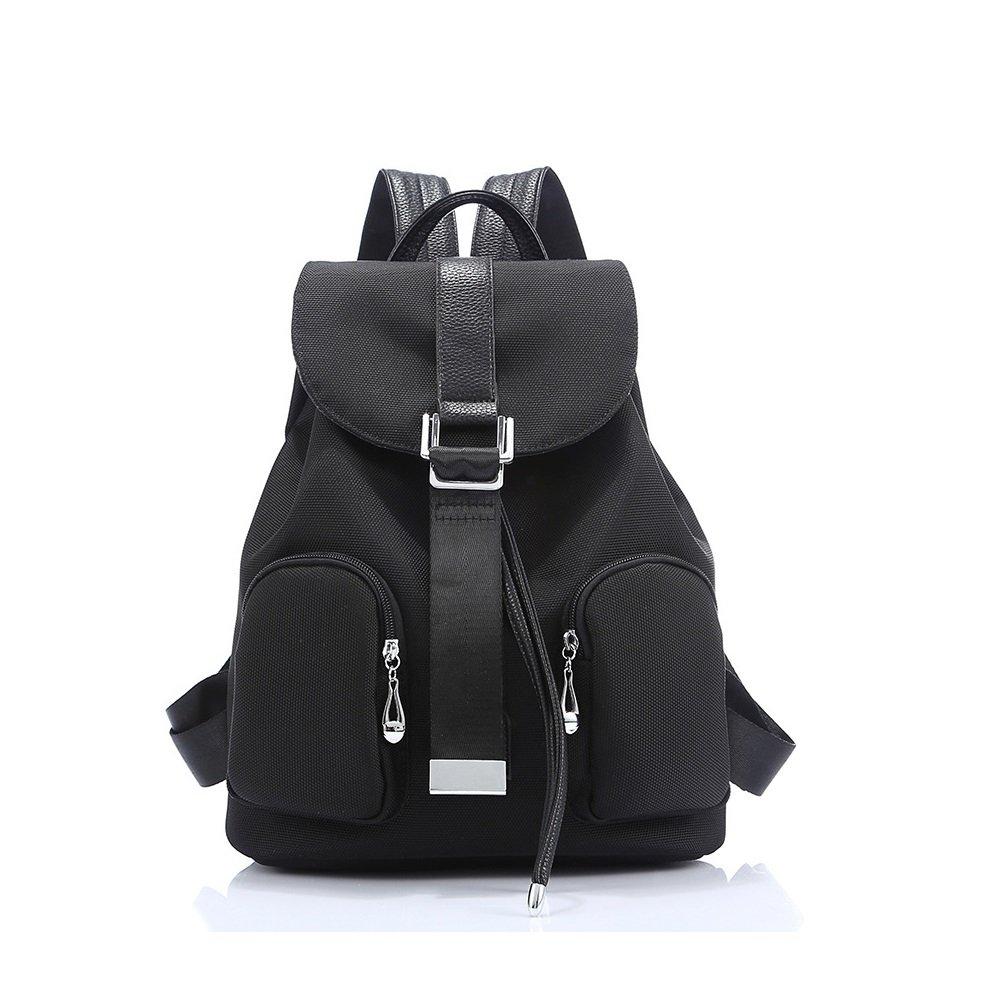 スクールBags for Teen Girls軽量キャンバスバックパックBookbags旅行  Farbe 1 B073WBMQDD