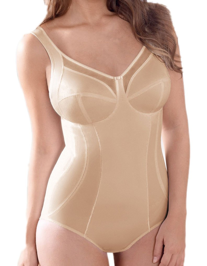 Anita Comfort Clara Women`s Corselet Bodysuit, ANI-3459, 44D, skin