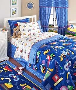 Amazon.com: Olive Kids Under Construction Bedding ...