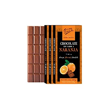 PARA TI Milk chocolate orange-flavored. 3pack. 10.5oz.