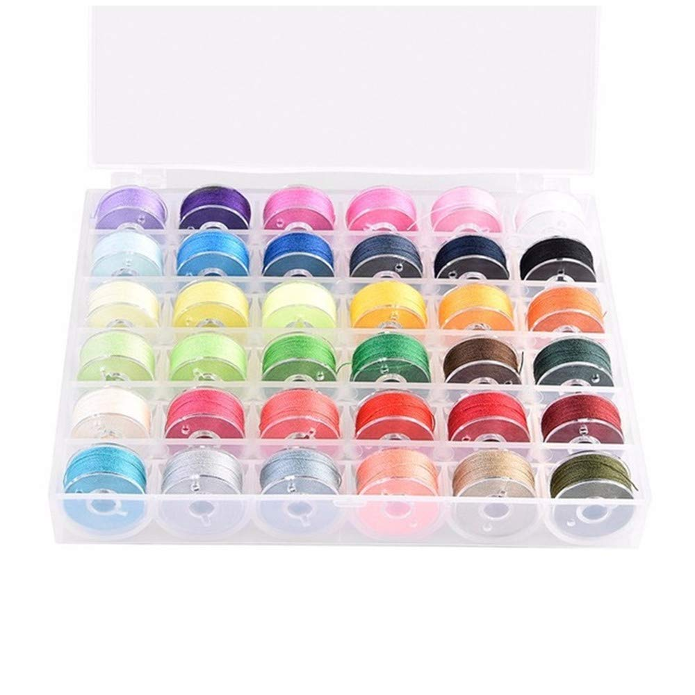 100 Pcs Plastic Embroidery Floss Bobbins Card Floss Bobbins Thread Organiser Storage Holder DWE