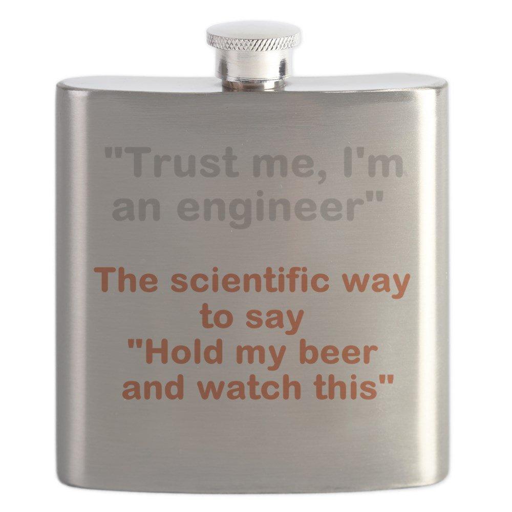 【最安値に挑戦】 CafePress – B01IUKGWU8 Hold Myビールの科学 – – CafePress ステンレススチールフラスコ、6オンスDrinkingフラスコ B01IUKGWU8, 【返品?交換対象商品】:bb92cdb4 --- trademark.officeporto.com