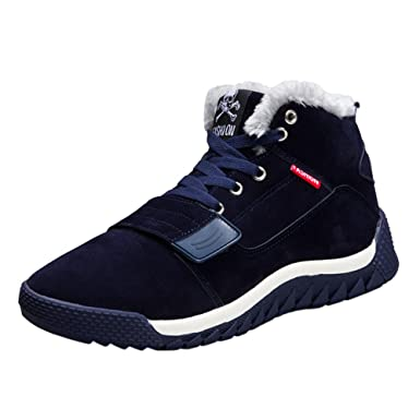 VECDY Herren Schuhe,Weihnachten Geschenke- Herbst Männer Winter-Warmer  Herbst lädt zufällige Sport d2522a8897