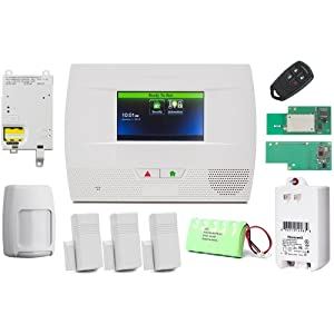 Honeywell Lynx Touch L5210 wireless home security alarm and automation GSM/Wifi/Zwave Kit
