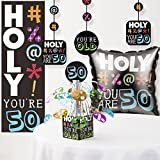 Holy Bleep 50th Birthday Decorations Kit