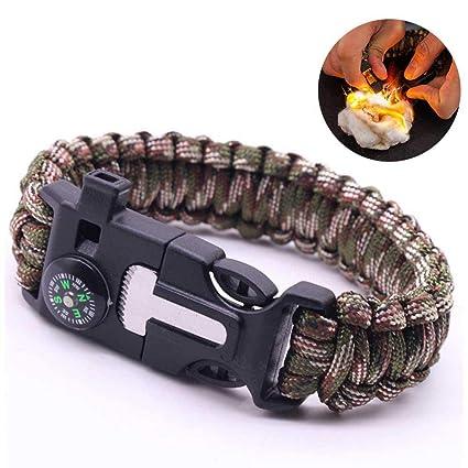 Amazon.com   Womdee Paracord Survival Bracelet 86e9ade367b