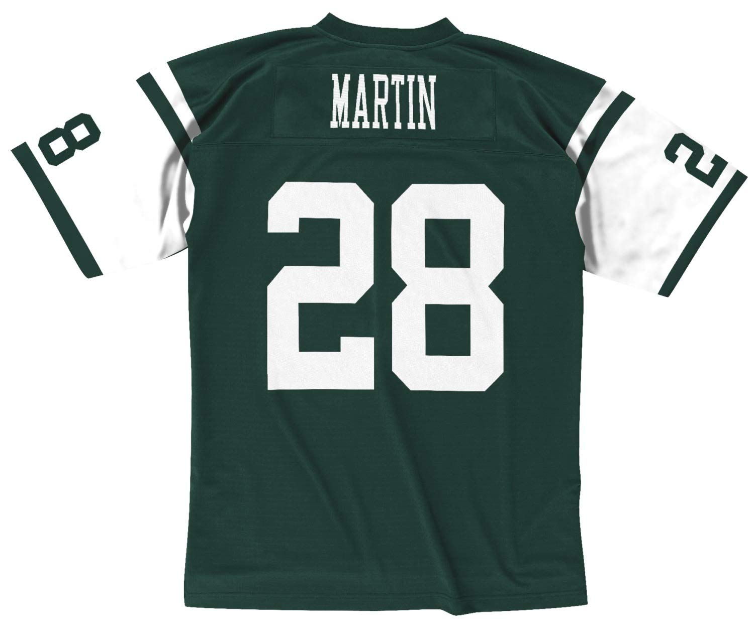 premium selection 00833 393fe Mitchell & Ness Curtis Martin New York Jets Throwback Jersey Green