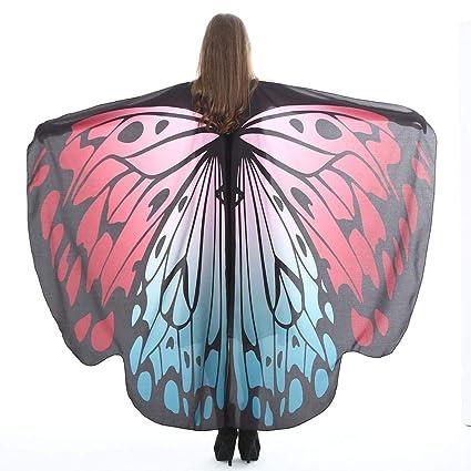 altamente elogiato outlet in vendita alta moda Womdee Farfalla Scialle, Butterfly Wings Scialle Morbido Costume fiaba  Scialle Accessori per Natale Festa di Halloween Cosplay Air Max Dynasty