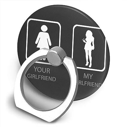 Amazon com: uZQKWFThLX Humor Symbols Cell Phone Ring Holder