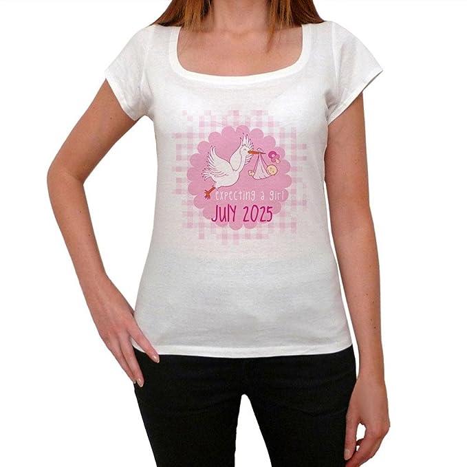 july 2025, camiseta mujer, camisetas regalo, embarazada camiseta, camisetas para embarazadas: Amazon.es: Ropa y accesorios