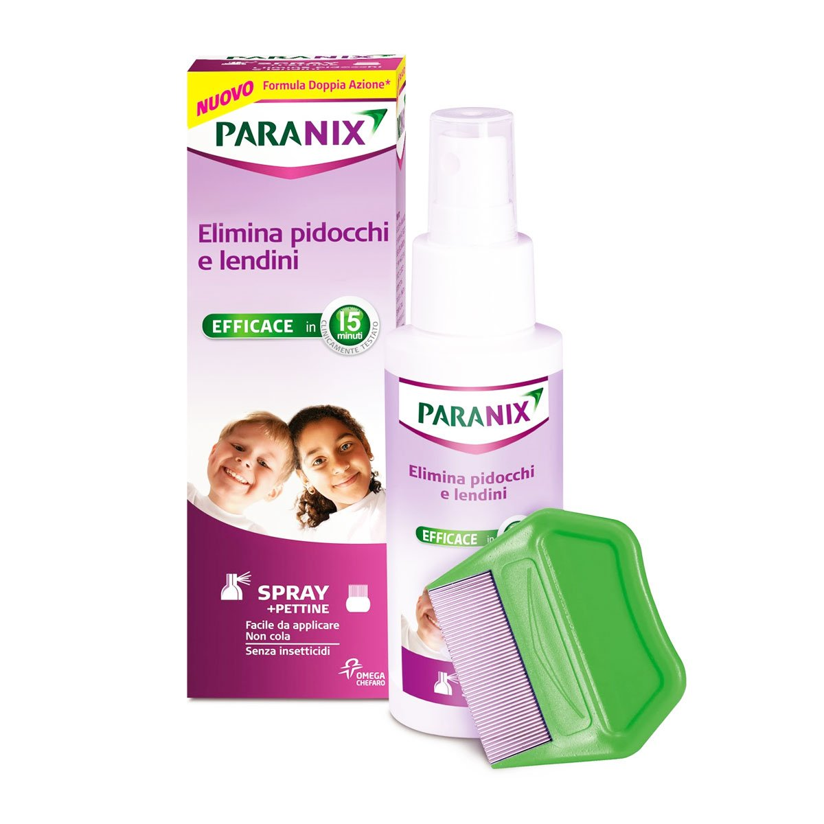 Paranix Spray Lice Remover With Comb 100ml