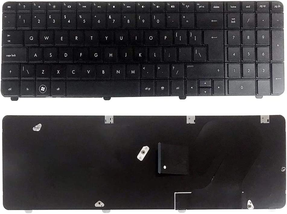 TLfyajJ Notebook US Teclado para HP G72 Series laptops 600715 ...