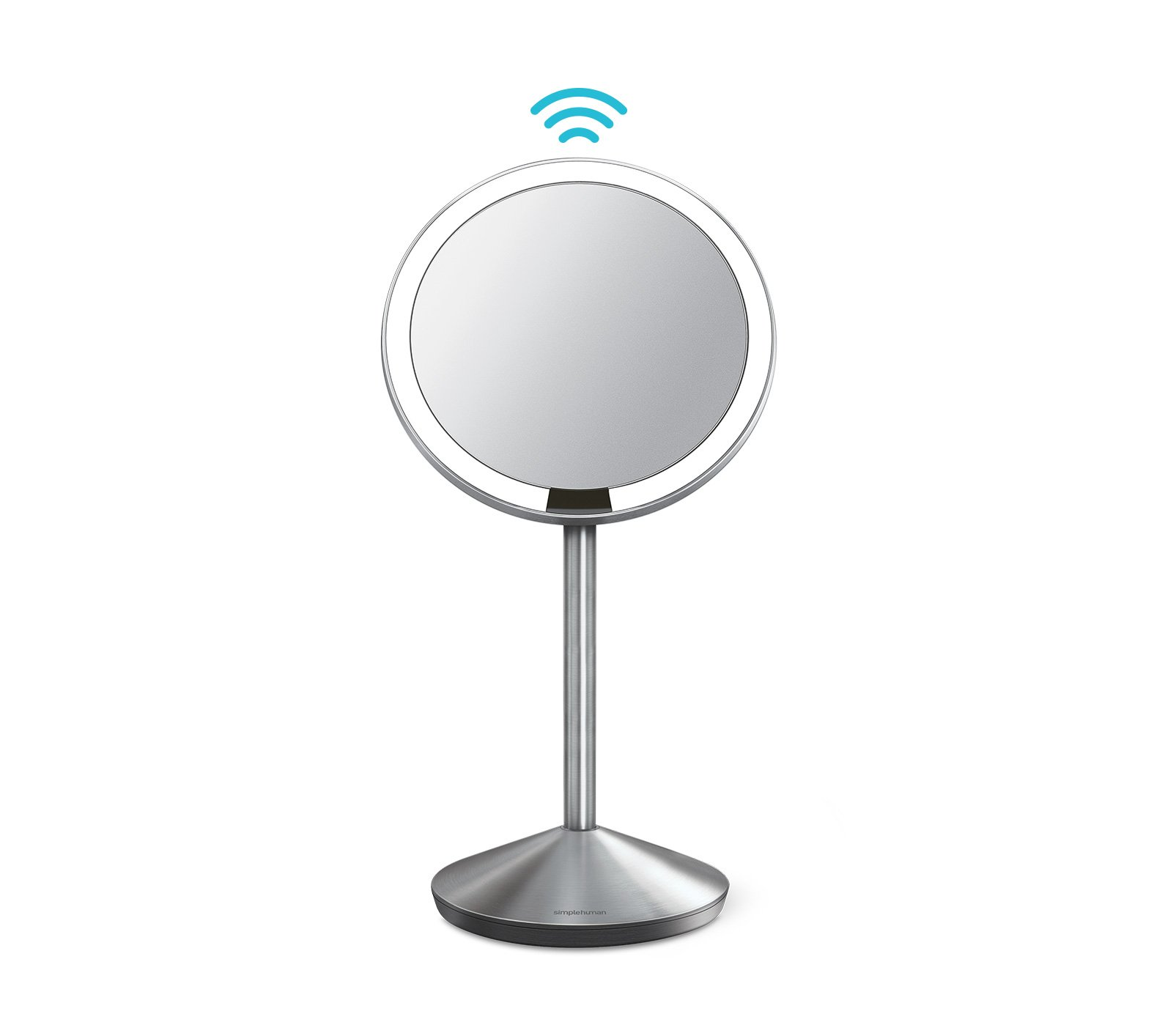 simplehuman 5 inch Sensor Mirror, Lighted Makeup Mirror, 10x Magnification by simplehuman (Image #2)