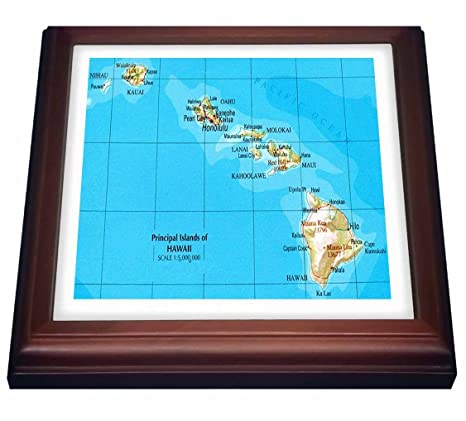 Amazon.com: 3dRose trv_41576_1 Map of Hawaiian Islands Trivet with on map of fiji island, best beaches hawaii islands, map of oahu, map of fort myers beach florida, map of japan, about hawaii islands, map of kauai, map of brazil, map of maui, map of wildwood new jersey, map of guam, map of new york city ny, map of new brunswick canada, google maps hawaii islands, map of nantucket island massachusetts, map of singapore, weather hawaii islands, map guam islands, map of waikiki restaurants, map of iceland,