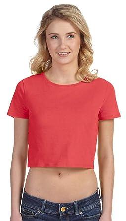 1ace249ba97fbc Bella + Canvas Ladies  Crop Top-6681 at Amazon Women s Clothing store