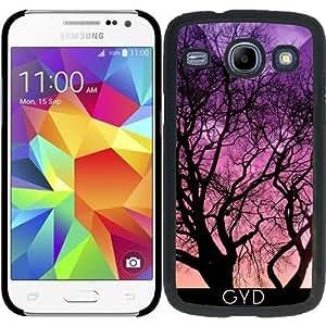Funda para Samsung Galaxy Core i8260/i8262 - Fantasía Gato Detrás Del árbol by Djuranne