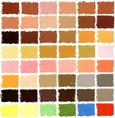 Girault Soft Pastel Set of 50 Portrait Tones