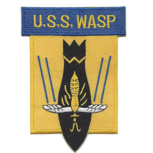 CV-7 USS Wasp Multi-Purpose Aircraft Carrier Patch