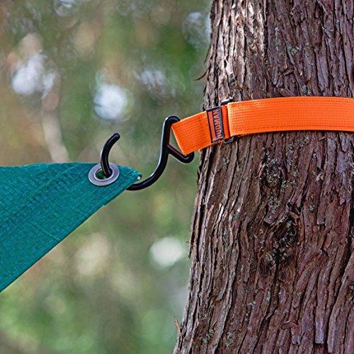 Hudman Works Strap & Hook XL, Bright Orange, 50'' by Hudman Works (Image #1)