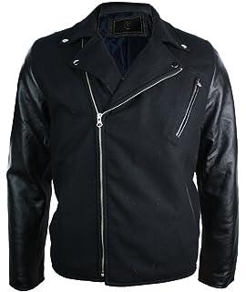 Style Motard Manteau Biker Cuir Blouson Homme Aviatrix Véritable 6Bf4nq