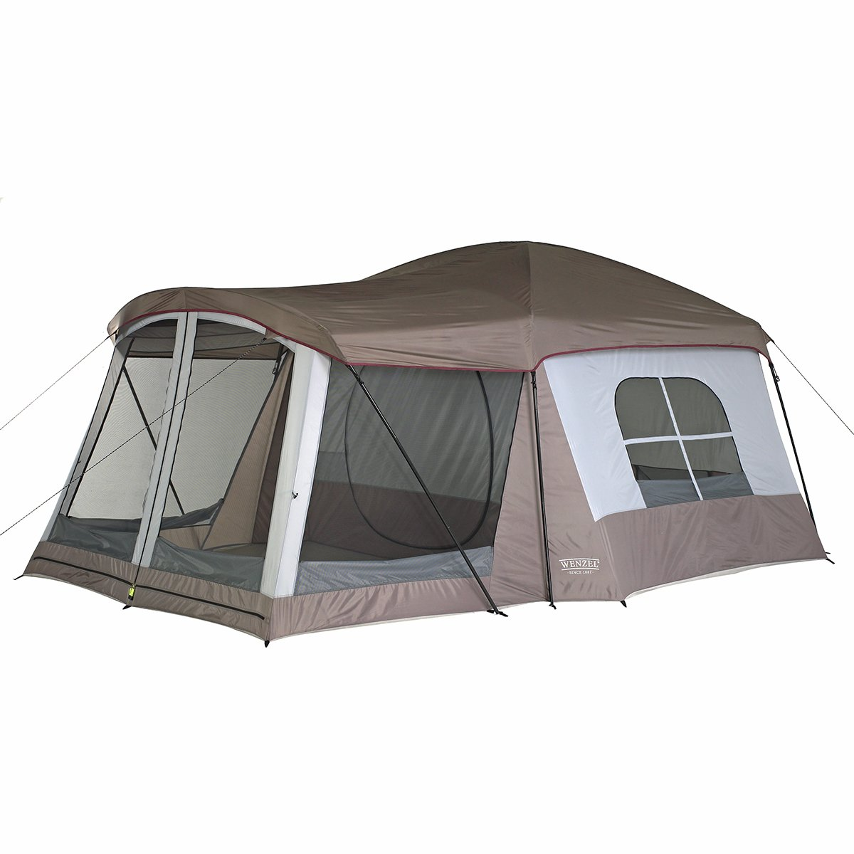 Wenzel Klondike Tent 16X11 Large 8 Person Family Cabin Dome C&ing Screen Hunt  sc 1 st  eBay & Wenzel Klondike Tent 16X11 Large 8 Person Family Cabin Dome ...