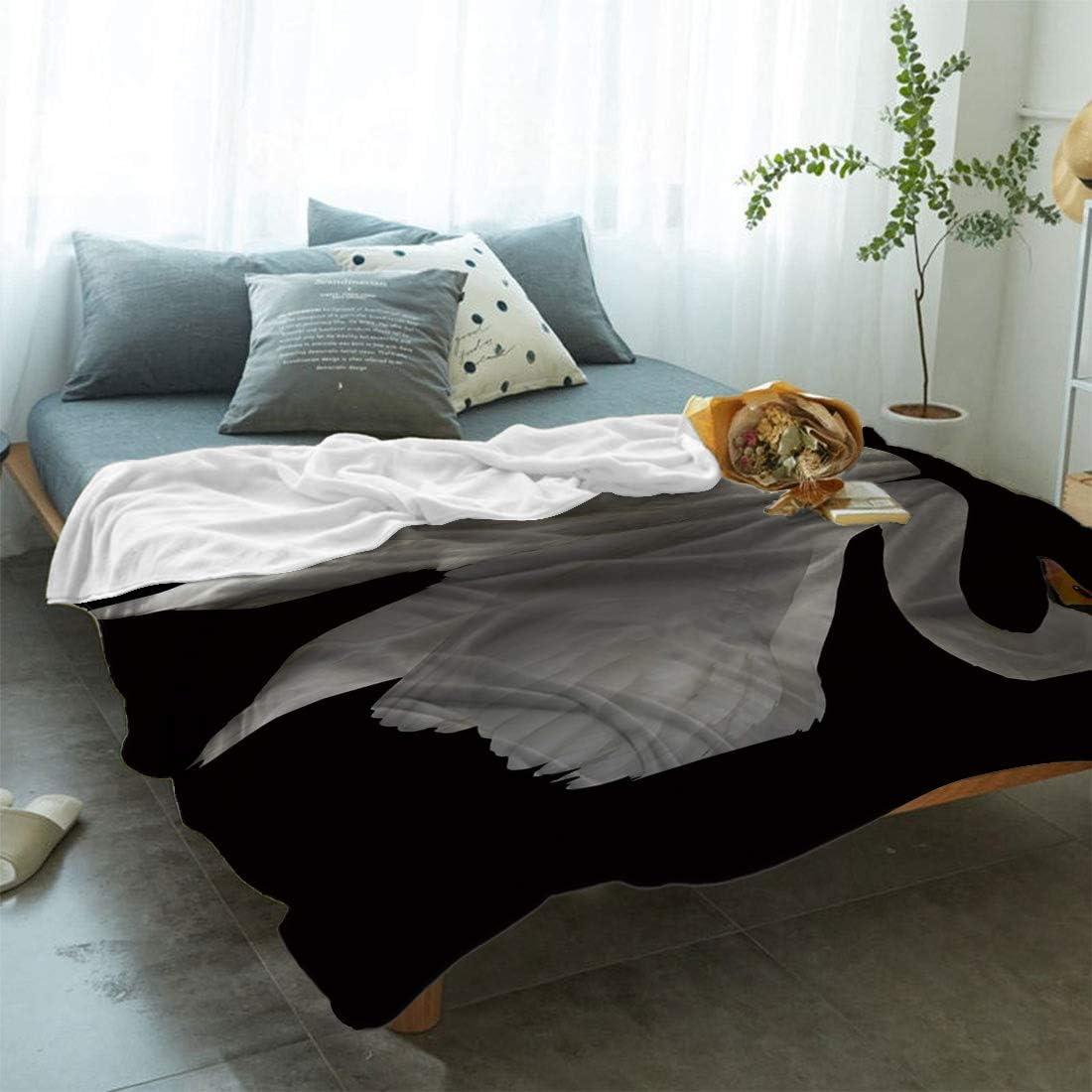 fancy-swan-themed-blankets