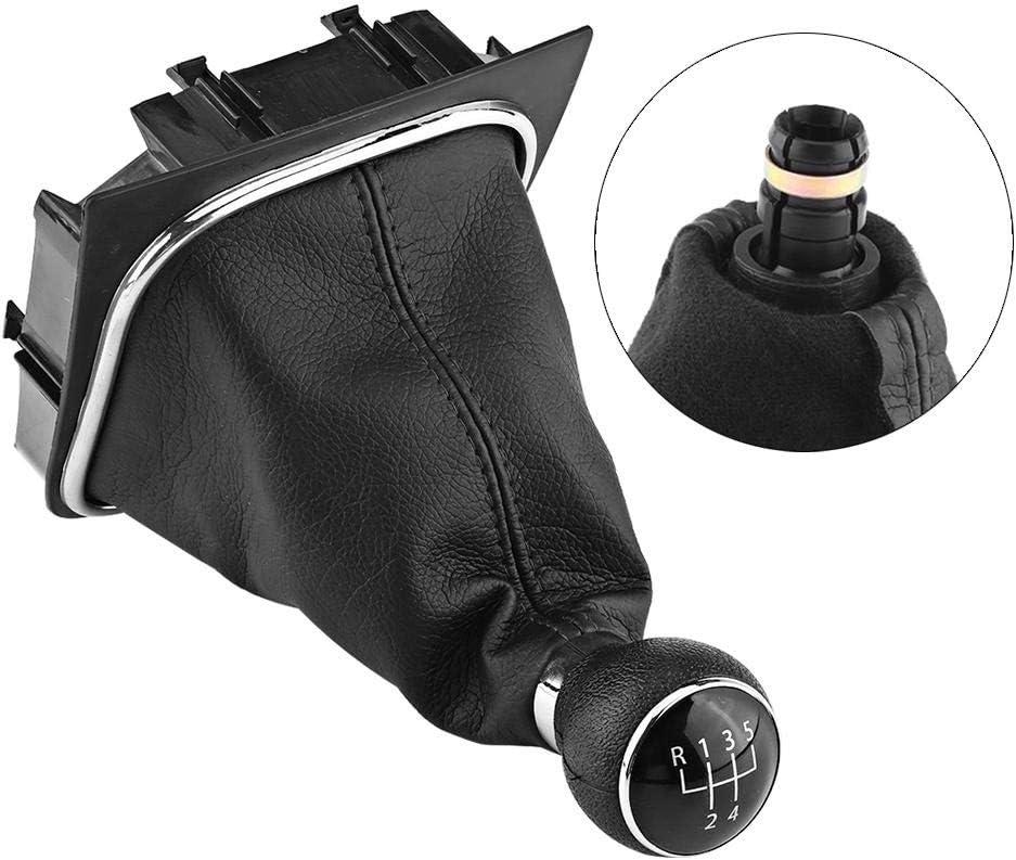 Car Gear Shift Knob 5 Speed Gearstick Gaiter Boot Kit For 6 MK5 MK6 2005-2014