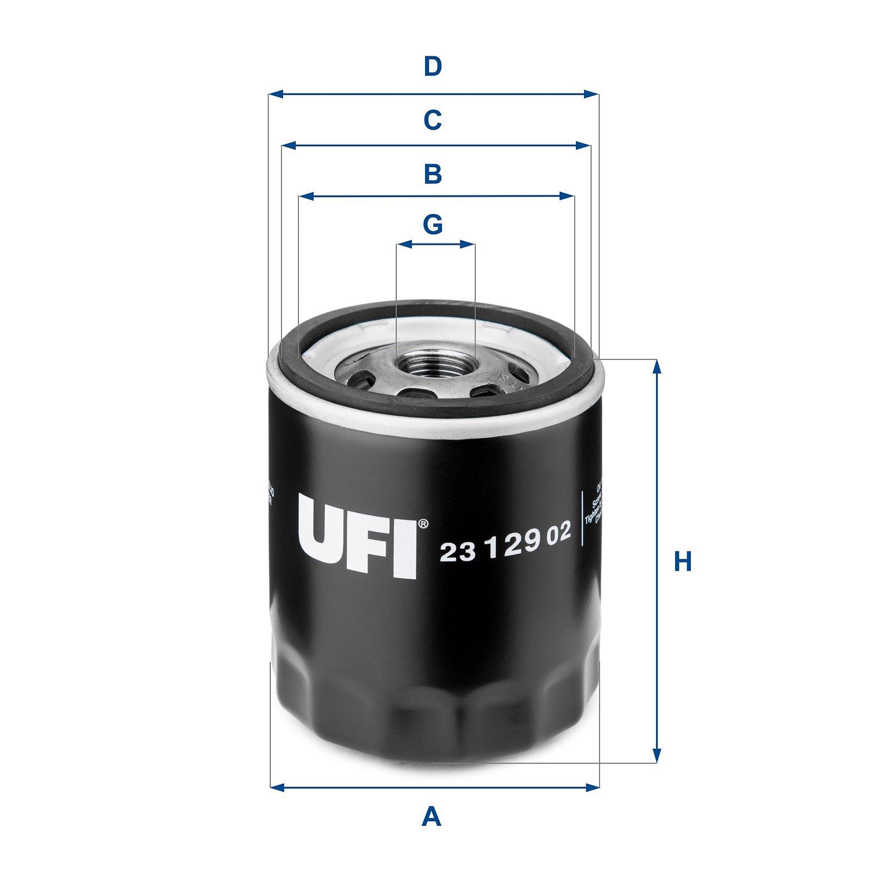 UFI FILTERS 23.575.00 Filtre /à Huile