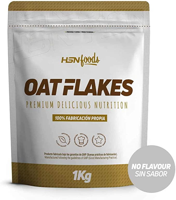 Copos de Avena Integrales de HSN Foods | Oat Flakes | Cereal con ...