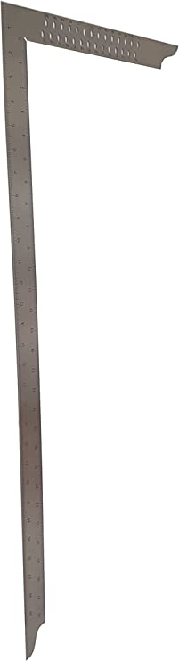 430/x 795/x 5/mm Hedue Z283/zinc Carpenters Square 800/mm with inch Scale