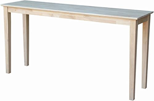International Concepts Concole Table, 60