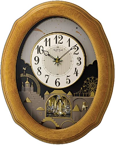 Rhythm Clocks Timecracker Golden Oak II by